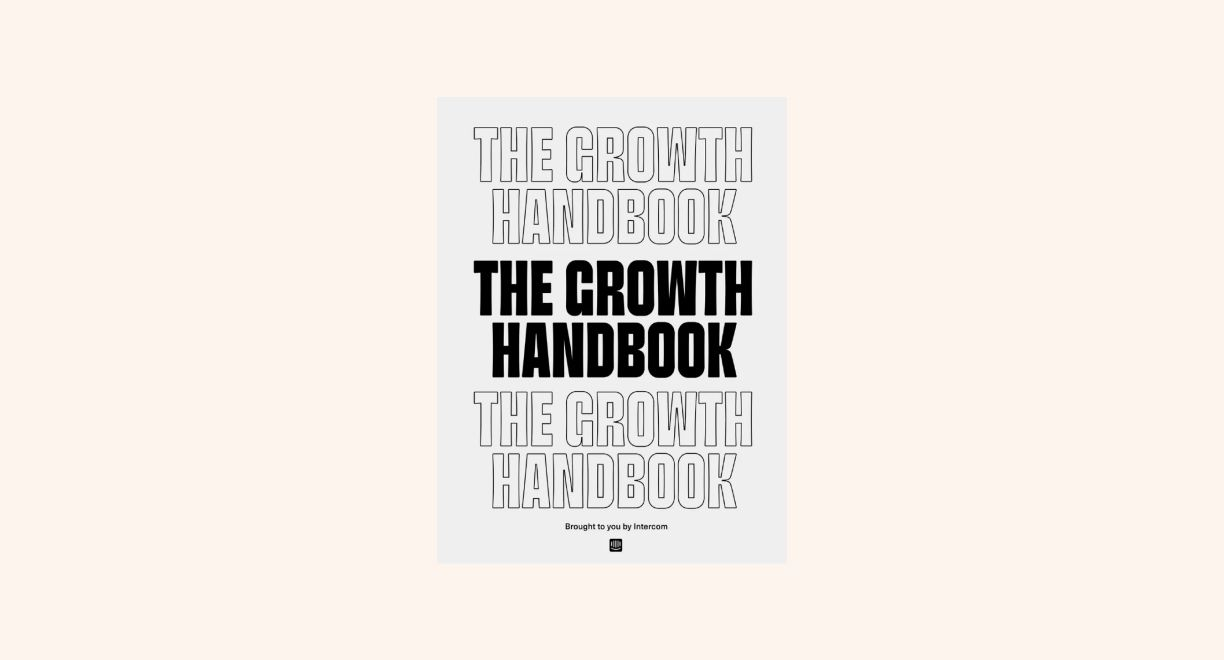 The Growth Handbook by Intercom cover