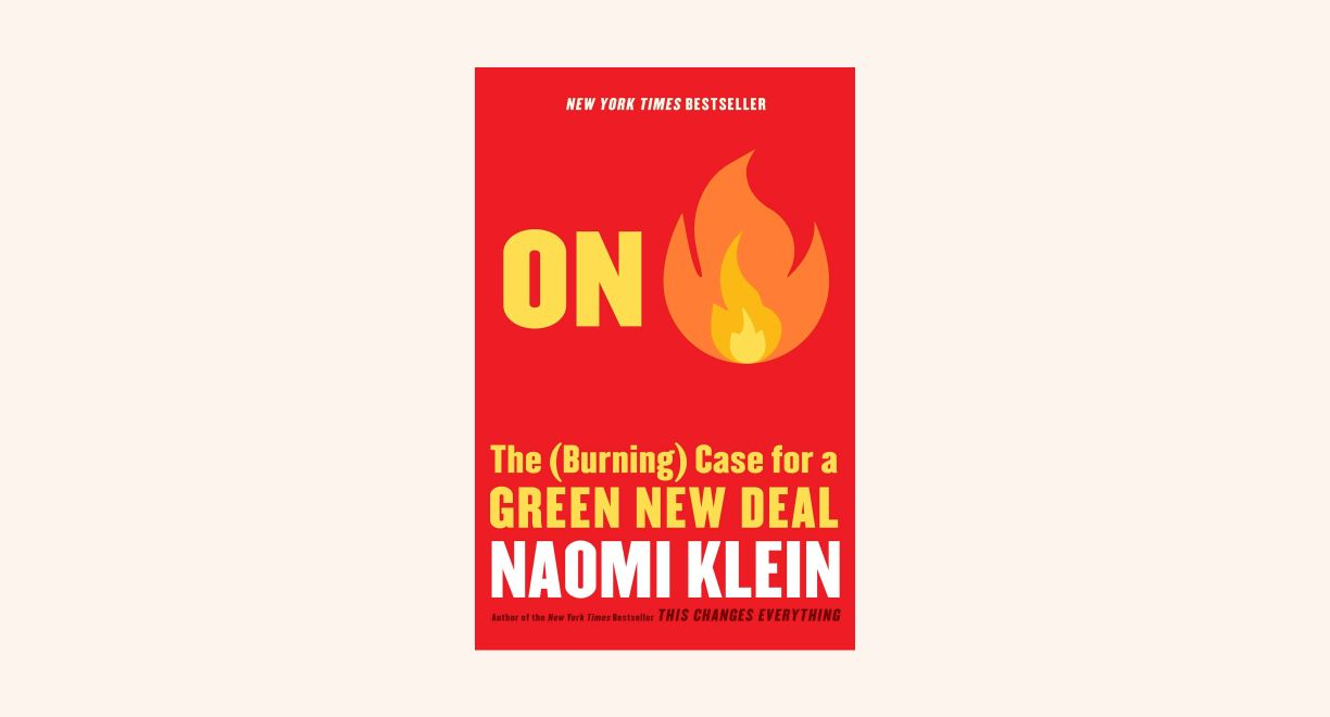 On Fire: The Case for the Green New Deal cover